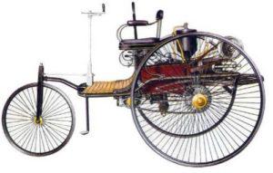 Автомобиль с бензиновым двигателем К. Бенца